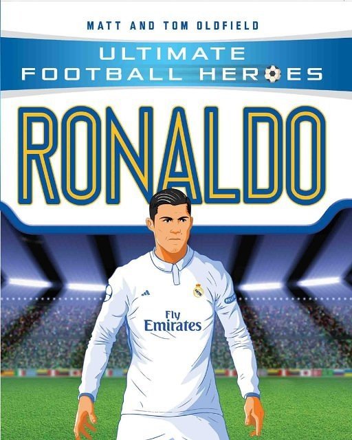 WIN - signed copy of our new #Ronaldo book! Just FOLLOW + RT to enter #CR7<br>http://pic.twitter.com/7IOdtjcshD