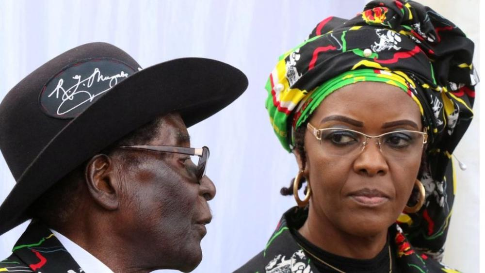 #Grace #Mugabe back from #SA despite assault claim  http:// bbc.in/2w0QhBJ  &nbsp;  <br>http://pic.twitter.com/v0yPlhZh4a