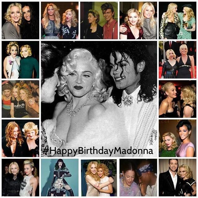 Happy Birthday, Queen of Pop Madonna