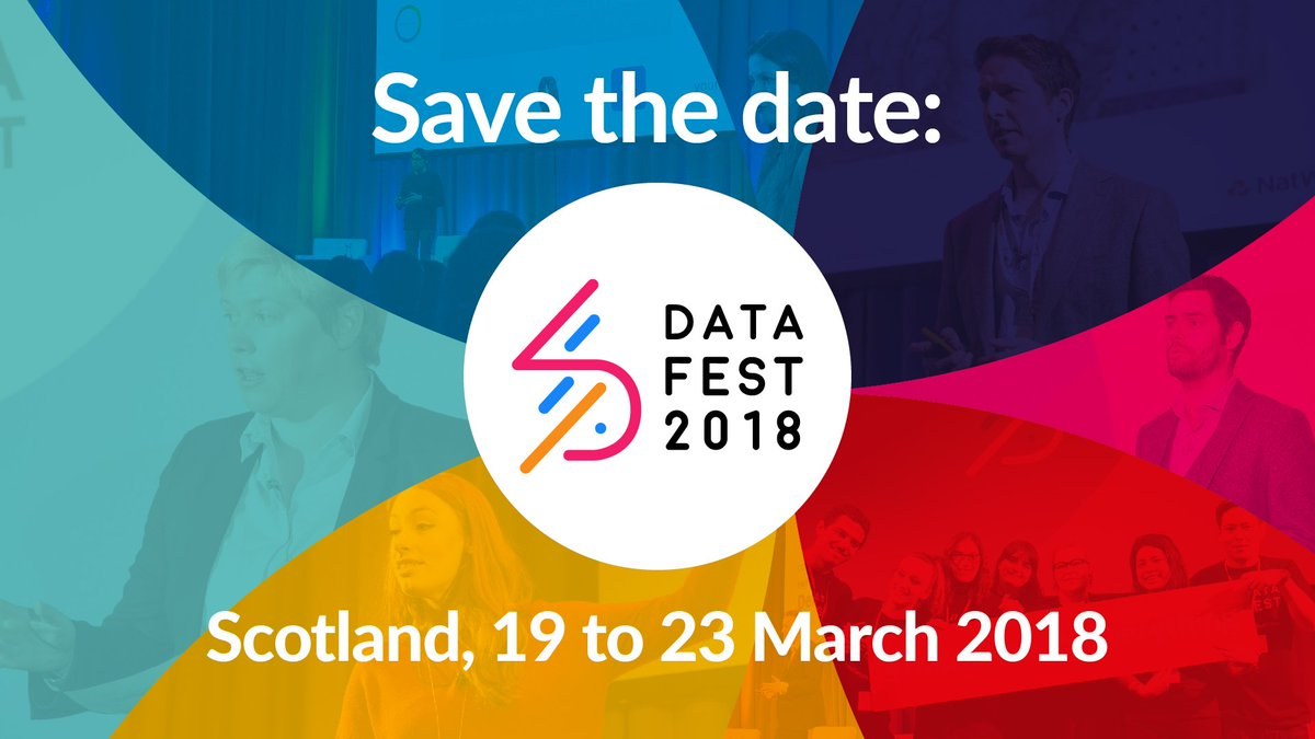 We are back! #DataFest18 comes to #Scotland 19 to 23 March 2018. Register your interest at  http://www. datafest.global  &nbsp;    #DataChangesEverything<br>http://pic.twitter.com/qIZHITwZHW