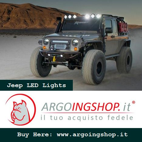 #ArgoingShop offers huge selection of #LED #headlights, #taillights, #lightbars &amp; Accessories for #Jeep vehicles.  http://www. argoingshop.it  &nbsp;  <br>http://pic.twitter.com/zXEioXuS2F