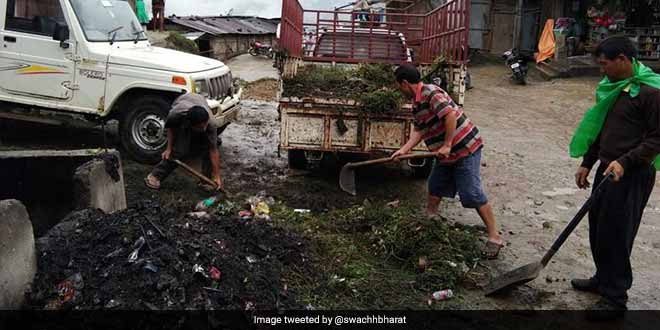 #IndiaAt70 Arunachal Pradesh's #IndependenceDay celebrations suggest being open defecation free by Dec #SwachhIndia https://t.co/acidw7XIUC