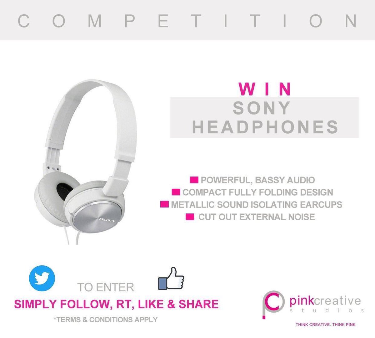 Like our #Facebook page   http:// bit.ly/2sj0ZRe  &nbsp;   for chance to #win #Sony headphones. Follow, RT, Like &amp; Share #competition #giveaway #comp<br>http://pic.twitter.com/O8M1eEhdP2