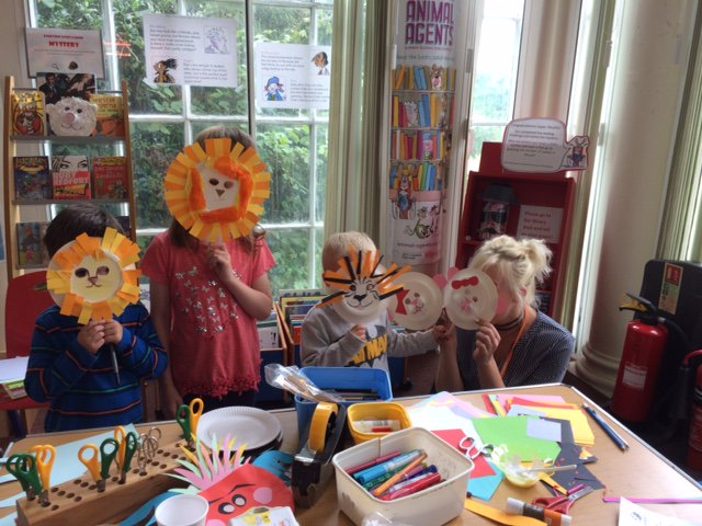 Leatherhead Library On Twitter 15 Children Had ROARING Fun Today Apart From The Tigers Lions Made A Shark Teddy Bear Unicorn