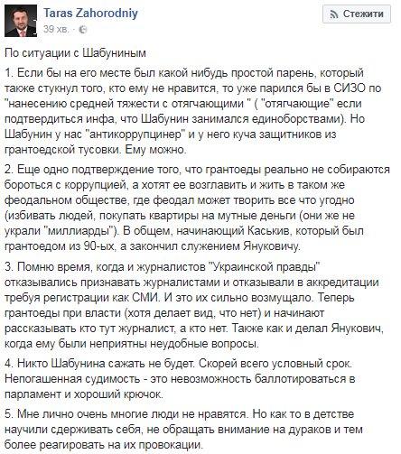 Шабунину вручили подозрение: Филимоненко уже не журналист - Цензор.НЕТ 2641