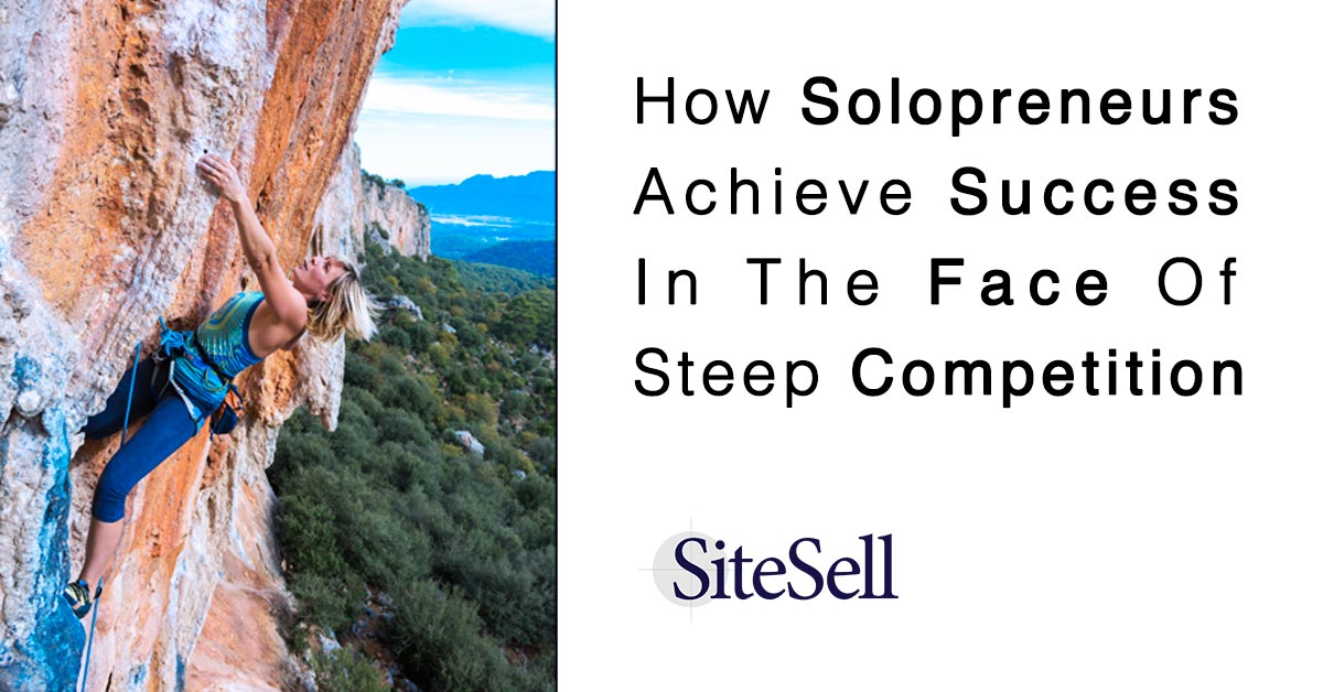 How YOU can achieve success in the face of steep competition   http:// sbi.me/1VEYoXN  &nbsp;   #solopreneurs #nichemarketing<br>http://pic.twitter.com/6Mx6S0IOTV