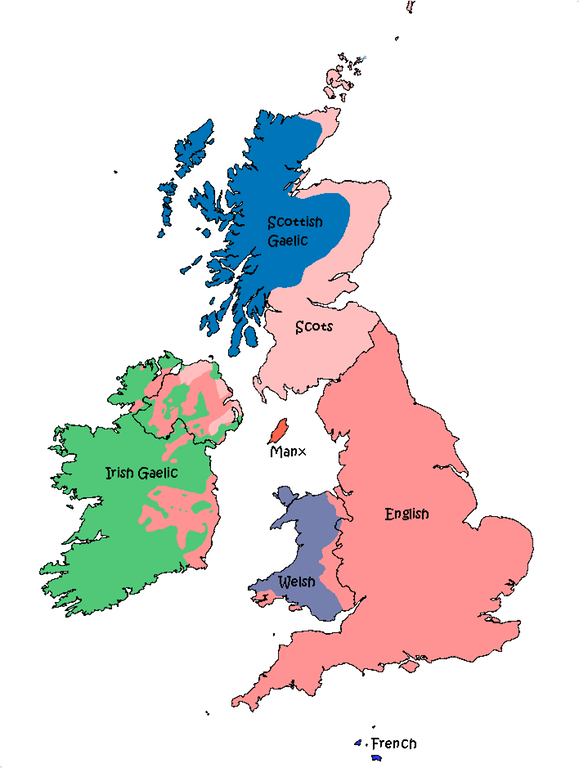 #History #map: Languages of Great Britain and Ireland in 1800.   https:// buff.ly/2vASoef  &nbsp;   <br>http://pic.twitter.com/p6L94plfma