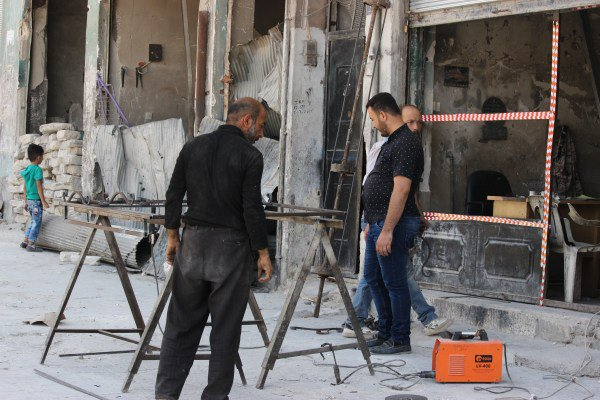 #Aleppo,summer 2017,after the liberation from #US-Backed terrorists,#Syrian,s are rebuilding &amp; #Children are playing,life returns to normal. <br>http://pic.twitter.com/cCfaMMhI3h