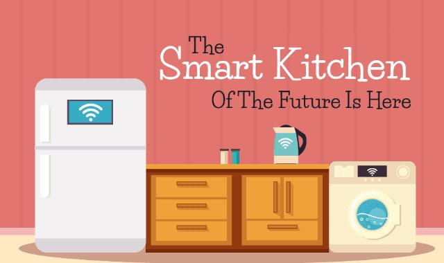 The Smart Kitchen of The Future Is Here  https:// buff.ly/2vOI6bC  &nbsp;   #infographic #kitchens<br>http://pic.twitter.com/k9bQfkHUeJ