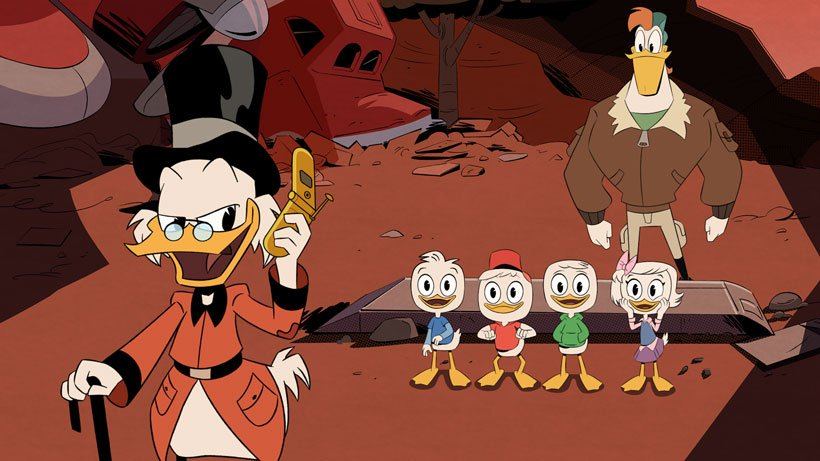 Entire 1st episode of #Disney #Ducktales is now online:  http:// ow.ly/epC430erMtZ  &nbsp;  <br>http://pic.twitter.com/4zJe69ToBx