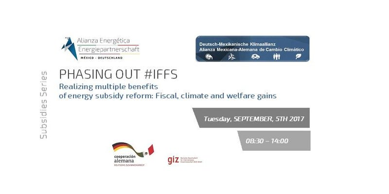 learn more about #fiscal #climate &amp; #welfare gains of #subsidies reform @AEEPMexDe &amp; @climate_blue joint event on Sept, 5, #CDMX #MEX City<br>http://pic.twitter.com/58IcVYndCT