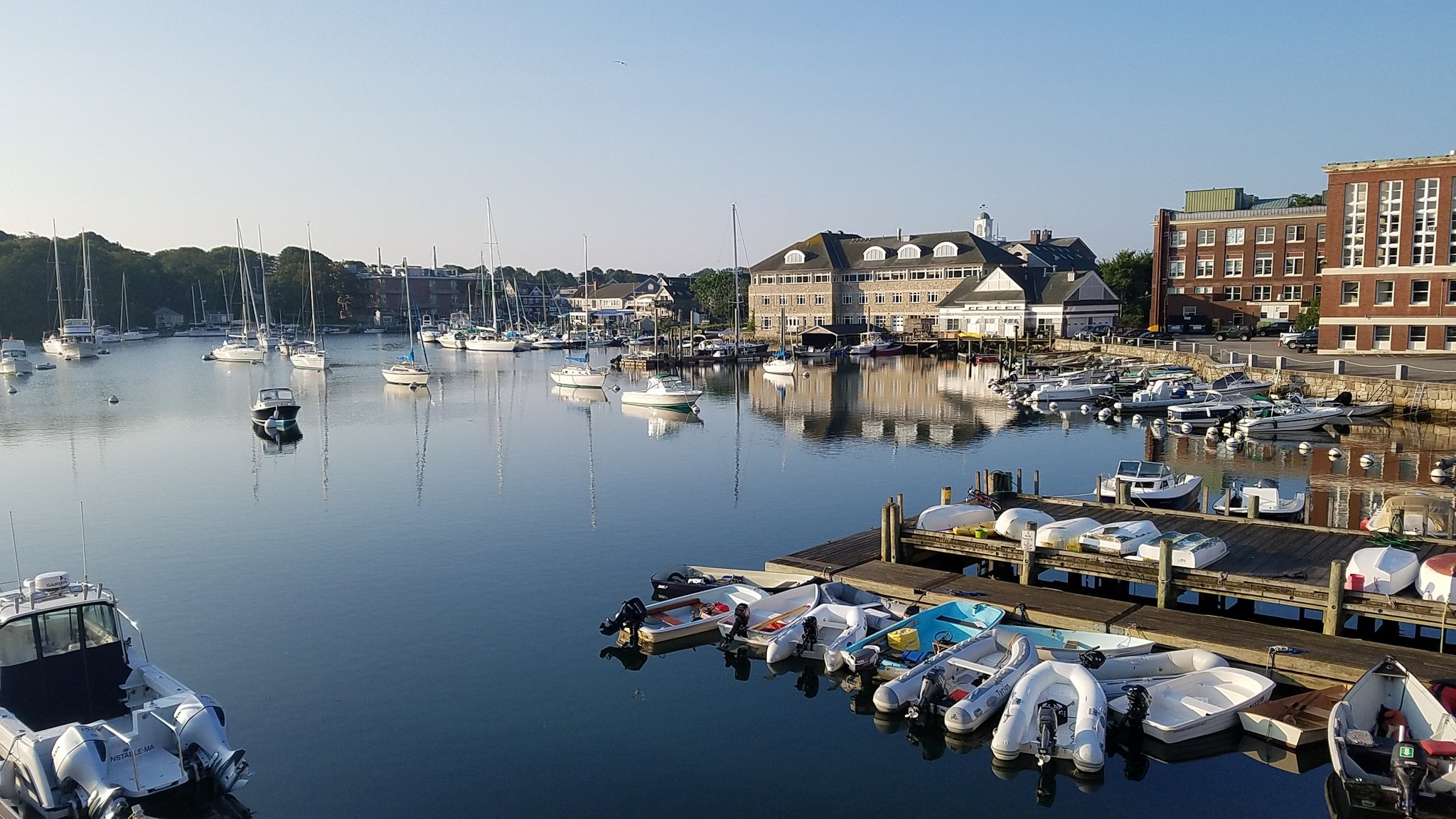 Lovely morning in Woods Hole @BIE2017 Summer course. #Hear #research https://t.co/xxD3BAhVZJ