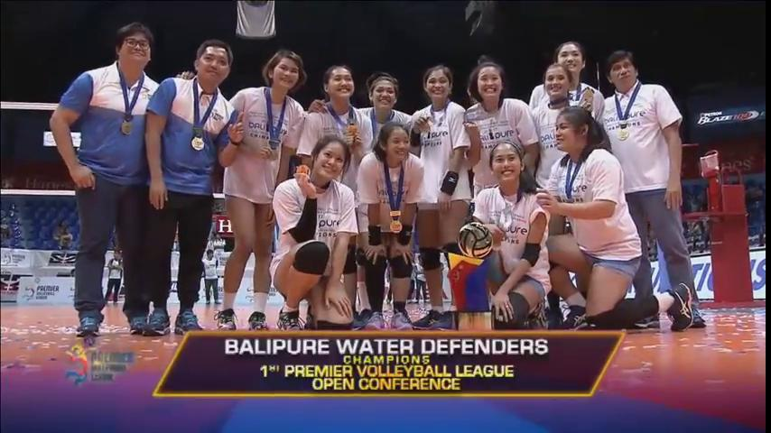 The #PVLonABSCBN Open Conference CHAMPS, the Water Defenders! 🏆 https:...