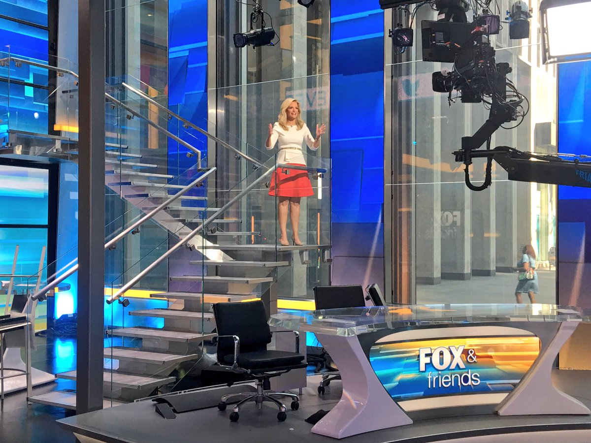 How exciting!  I got to read #SolarEclipse2017 #headlines on @foxandfriends  are you ready for Monday August 21st?<br>http://pic.twitter.com/DBwapjqbru