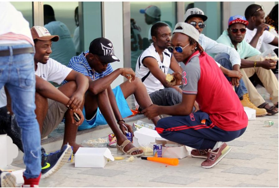 It's not rich Qataris suffering from Gulf boycott of Qatar but poor migrant workers there. https://t.co/w2hLki9a9D