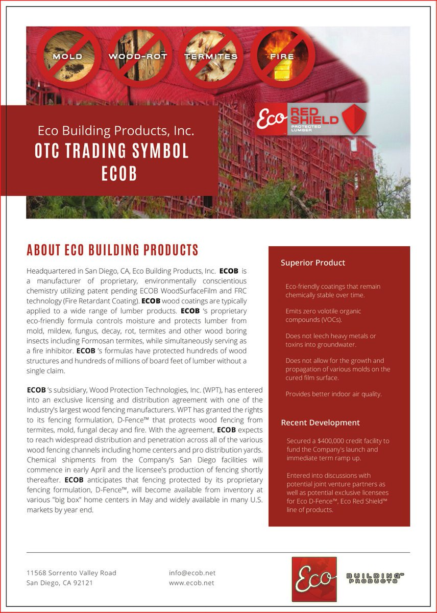 $ECOB Eco Building Products, Inc. Releases Marketing Update!   http://www. frontpagestocks.com/eco-building-p roducts-inc-ecob/ &nbsp; …    @frontpagestocks #DarkTowerMovie #markets #numbers <br>http://pic.twitter.com/xBobM1LA3g
