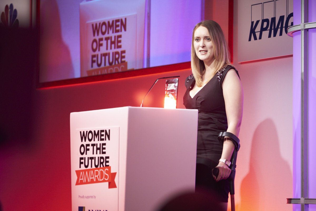 Gold medalist and company director Danielle Brown MBE was last year&#39;s winner for #Sport #HighAchievers @Danielle10488<br>http://pic.twitter.com/CvrwkZYkB1
