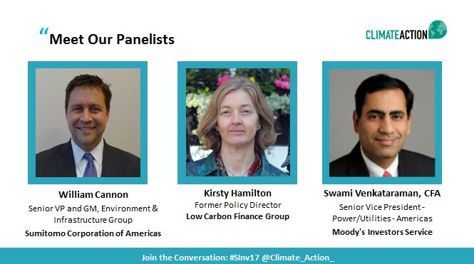 Only 1 hour left! Join our speakers at a webinar on financing #energy transition. Don&#39;t forget to tune in!   http:// bit.ly/2wMmwCg  &nbsp;   #SInv17 <br>http://pic.twitter.com/dVaM1Cmnw2
