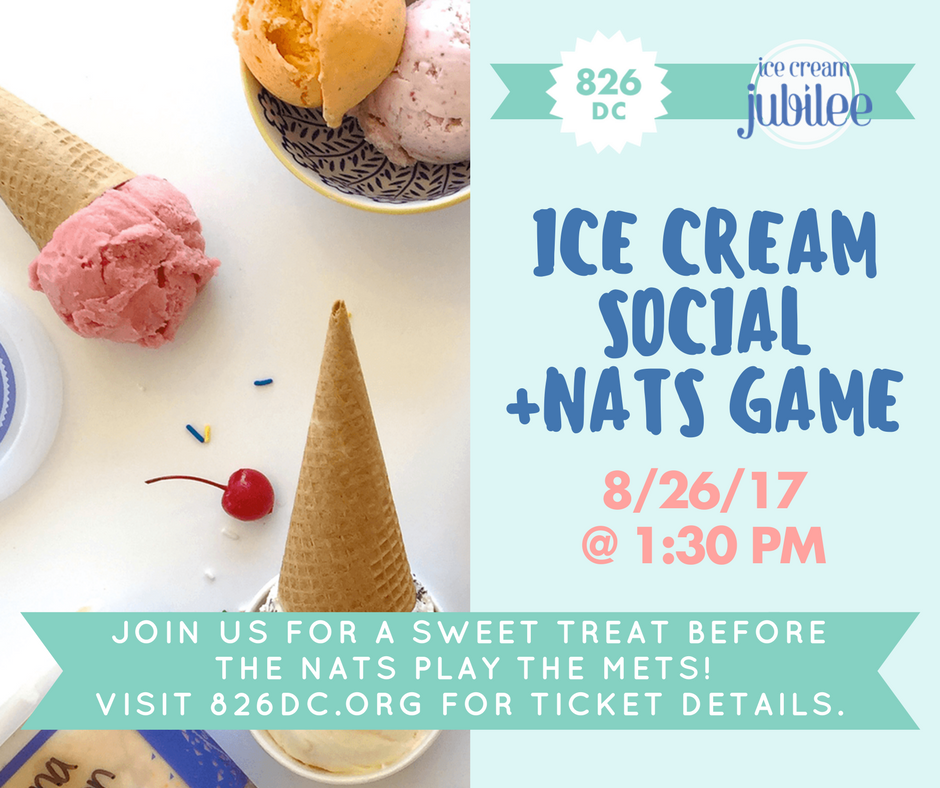 Let's celebrate #NationalYouthLiteracyDay with @icecreamjubilee and a Nats game! �� ⚾ https://t.co/gqtfhdEdDi https://t.co/dg4ctcsXOH
