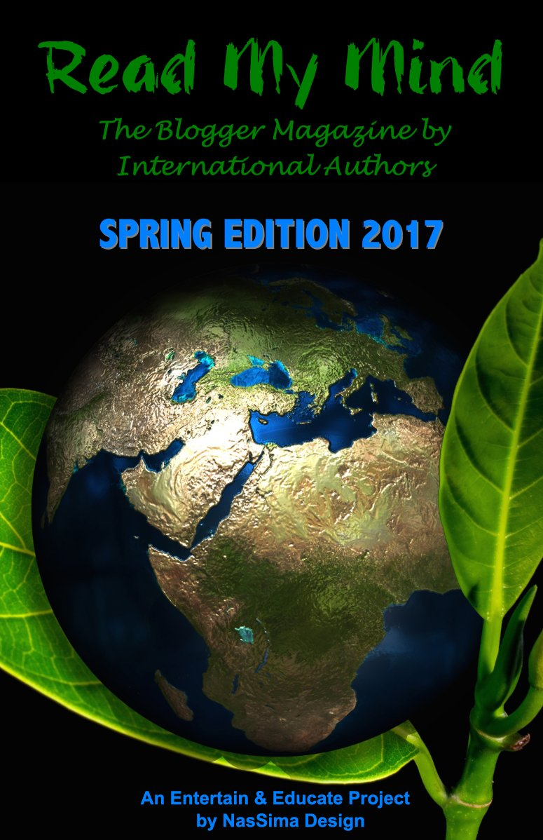 Have U read the first issue of the #FREE #Blogger #magazine #ReadMyMind?  http://www. nassima-design.com/RMM/spring2017  &nbsp;   #publishing #interview #reviews #Authors<br>http://pic.twitter.com/PRyGnFEu4H