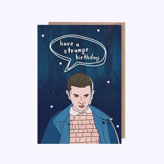 Restocked on funky greetings cards including these two newbies! Check them out online -  http:// overthemoongifts.co.uk  &nbsp;   #tomhardy #strangerthings<br>http://pic.twitter.com/Hhzw1luKR6