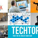 #TECHTOPIA - a new exciting pavilion this year on the #NECA17 show floor, is all things digital and disruptive tech. https://t.co/slNCVkrpiR