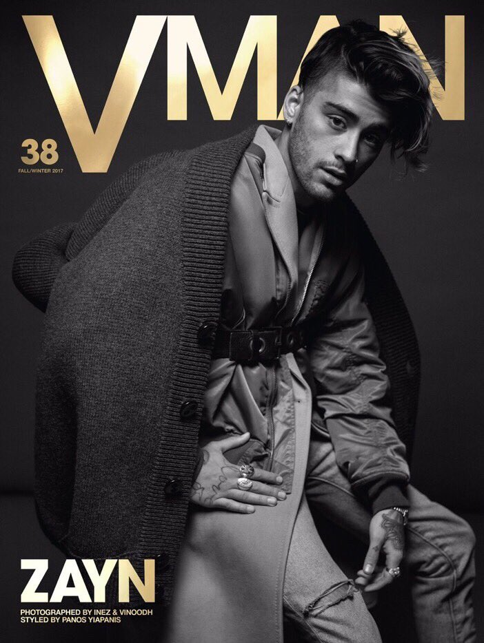 #NEW | Zayn is the cover of @VMAN Fall/Winter 2017.<br>http://pic.twitter.com/92FnTbMnge