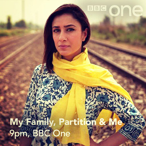 My family #Partition and me. Final part tonight at 9. If you'll be watching RT and let everyone know. Important tv https://t.co/0mh80y9YbW