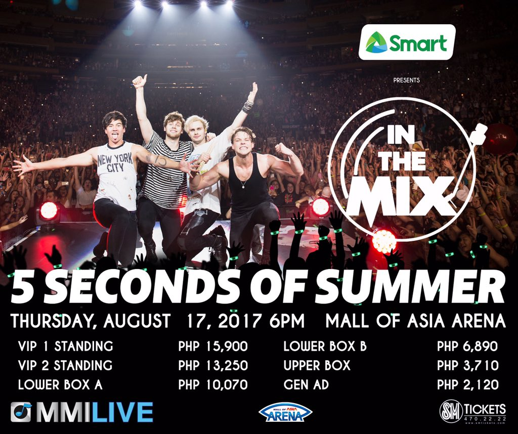 Mmi Live On Twitter 5 Seconds Of Summer Meet Greet Contest