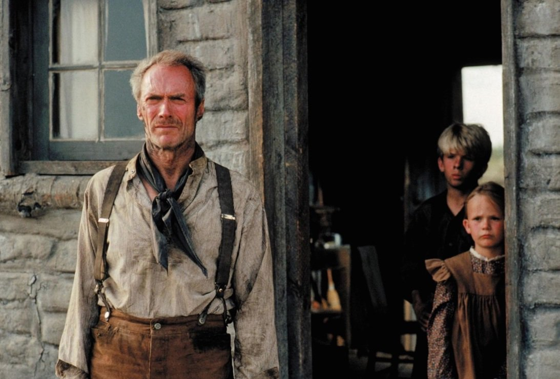 Last week was the 25th Anniversary of the #ClintEastwood classic, #Unforgiven. Here&#39;s some fun facts about it:  http:// mentalfloss.com/article/67958/ 12-dusty-facts-about-unforgiven &nbsp; … <br>http://pic.twitter.com/nYt2LqFdpI