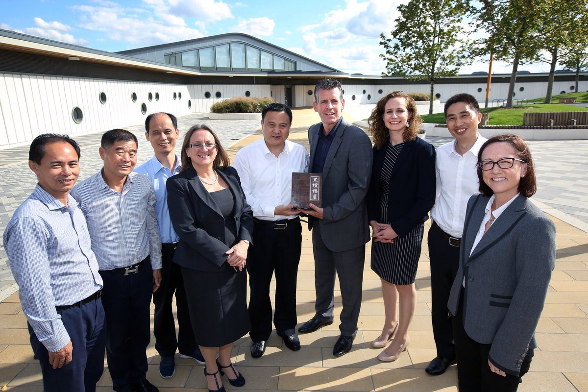 Great to welcome a delegation from Lishui, China @AlconburyCampus yesterday #buildingpartnerships #global #investment #opportunities<br>http://pic.twitter.com/0e7WiudP2l