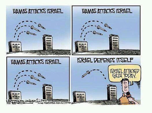 The media&#39;s anti-#Israel bias in a nutshell. <br>http://pic.twitter.com/AvMmenC9HU