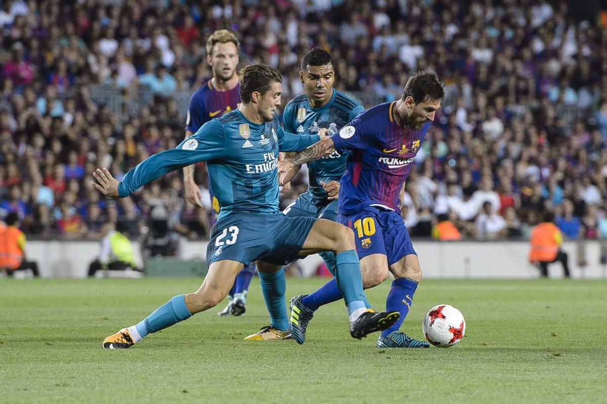 Real Madrid y Barcelona se enfrentan este miércoles por la vuelta de l...
