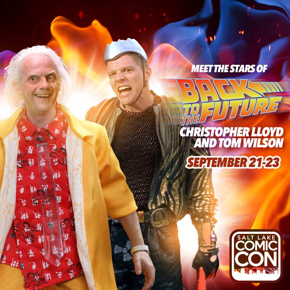 Meet Christopher Lloyd and Thomas F. Wilson from Back to the Future Trilogy at #SLCC17 !  http:// bit.ly/2rMkfoo  &nbsp;   #backtothefuture #fandom <br>http://pic.twitter.com/QFsi5FJGrT