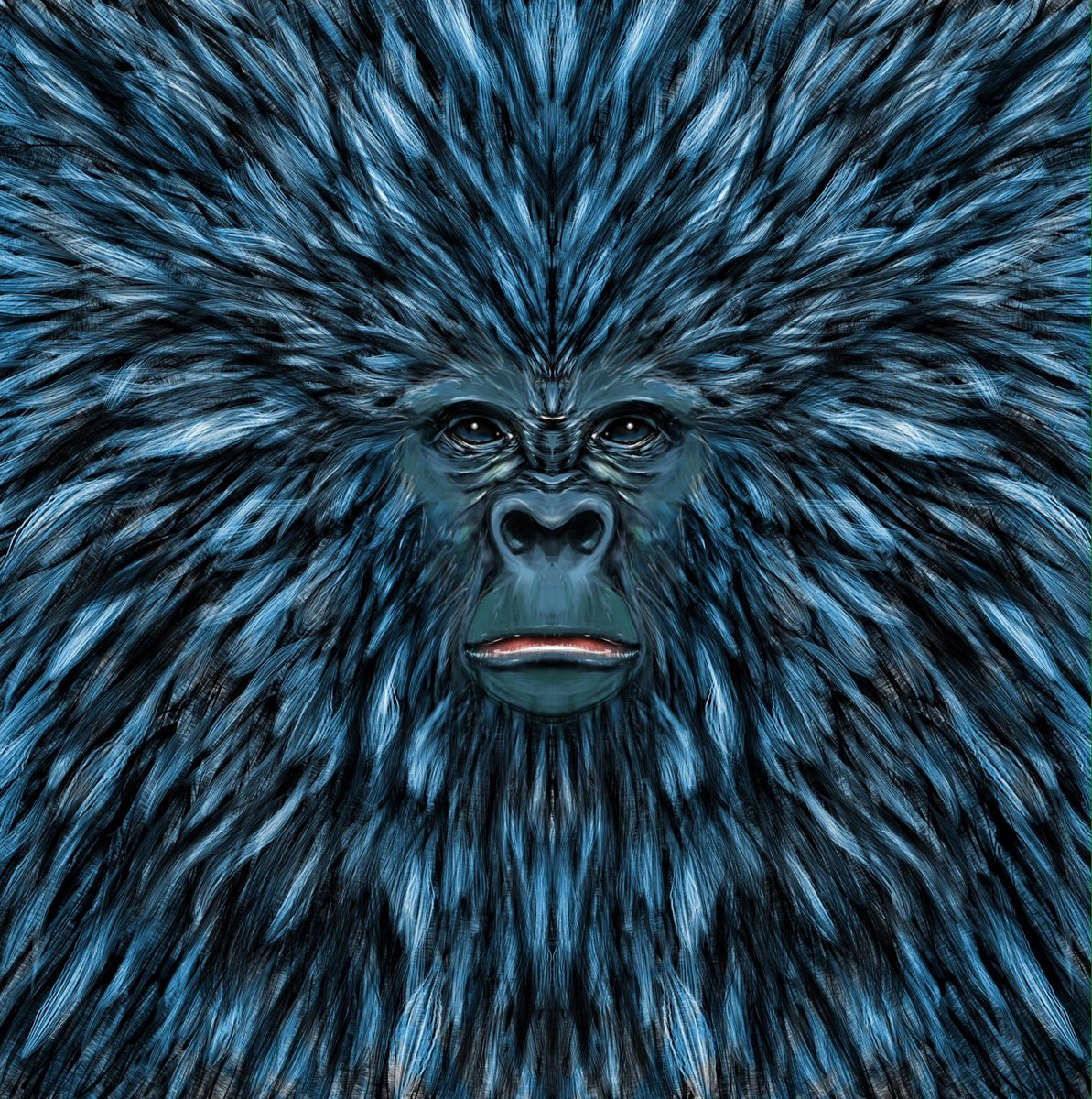 Soon available in shops! Link in BIO.  #ape #drawing #art #redbubble #digitalart #digitalpainting #society6<br>http://pic.twitter.com/HM9PUshYZg