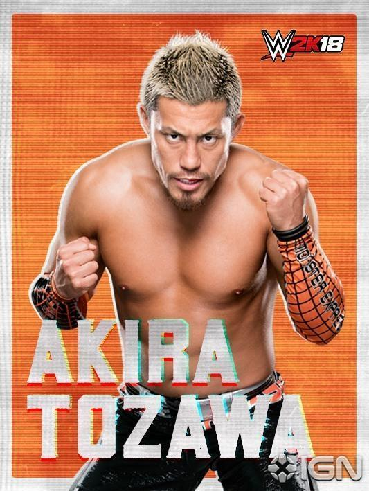 .@TozawaAkira is officially on the #WWE2K18 roster! @IGN https://t.co/...