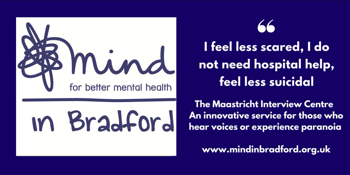The #Maastricht Interview Centre - continuing to make a real difference to the lives of people in #Bradford  @markybt #mentalhealth #Voices<br>http://pic.twitter.com/XJsc2ERstB