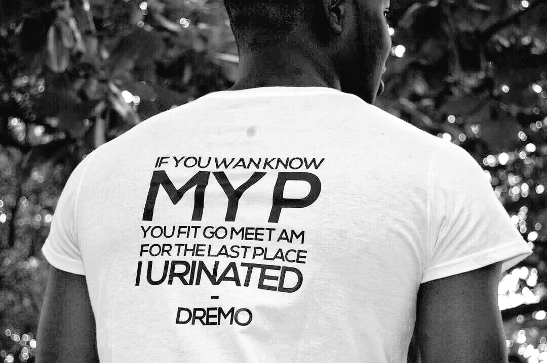 #Myfavline &#39;If you wan know my P you fit go meet am for the last place I urinated! #who! @Dremodrizzy <br>http://pic.twitter.com/28eSRL2C3h
