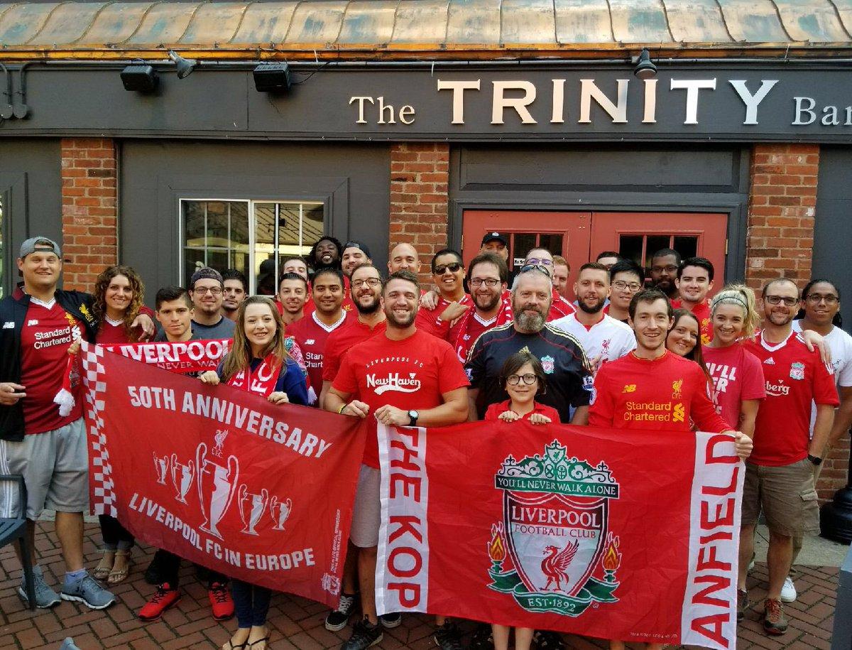 Opening day! #LFC #LiverpoolFC #LFCNH #YNWA #COYR #thetrinitybar #epl #Anfield #KOP #reds #PLonNBC #LFCNewHaven #OLSC #WATLIV <br>http://pic.twitter.com/EYC9n7rmlx