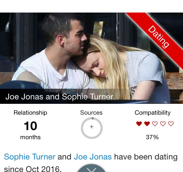 Jonas dating