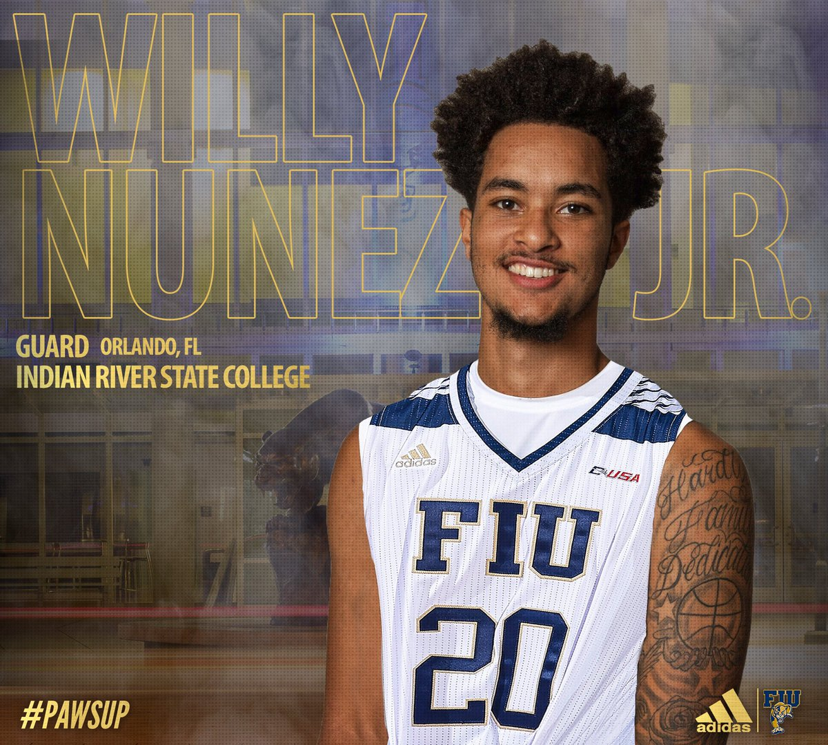 Happy Birthday to our Junior guard Willy Nunez Jr.! --- #FIU #PawsUp #HappyBirthday <br>http://pic.twitter.com/6oF6DQE2n6