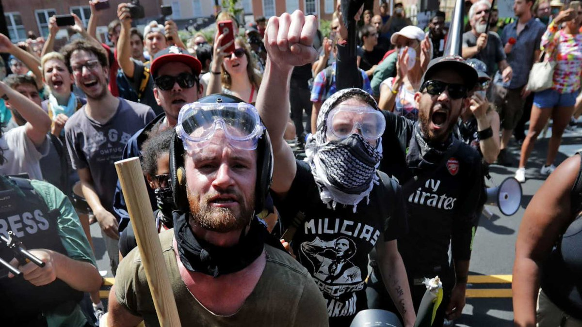 MORE LEFTIST OVERREACH: Leftists, Media Compare Antifa To WWII Allies https://t.co/A4j5NvX4eb