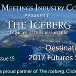 Issue 15 of The Iceberg's Business Events World out with the DestinationNEXT Futures Study Update #eventprofs: https://t.co/PN2kJ9hd35 …