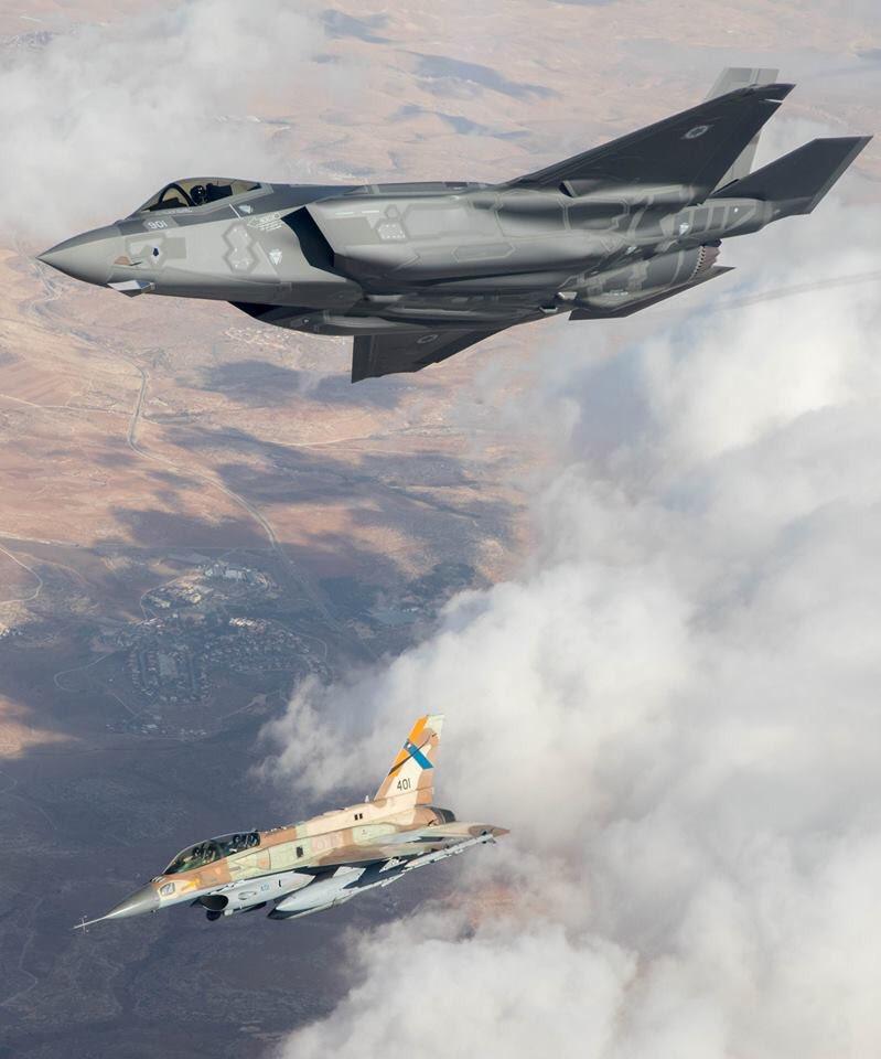 إسرائيل تتسلم أولى مقاتلات «إف 35» الأميركية في ديسمبر - صفحة 4 DHXGshwXYAIkqV6