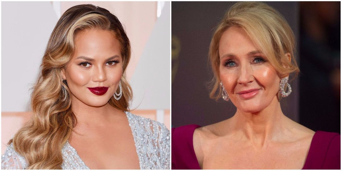 Chrissy Teigen, J.K. Rowling and more slam Trump following outrageous Charlottesville remarks https://t.co/2NWFQHQ0Vs