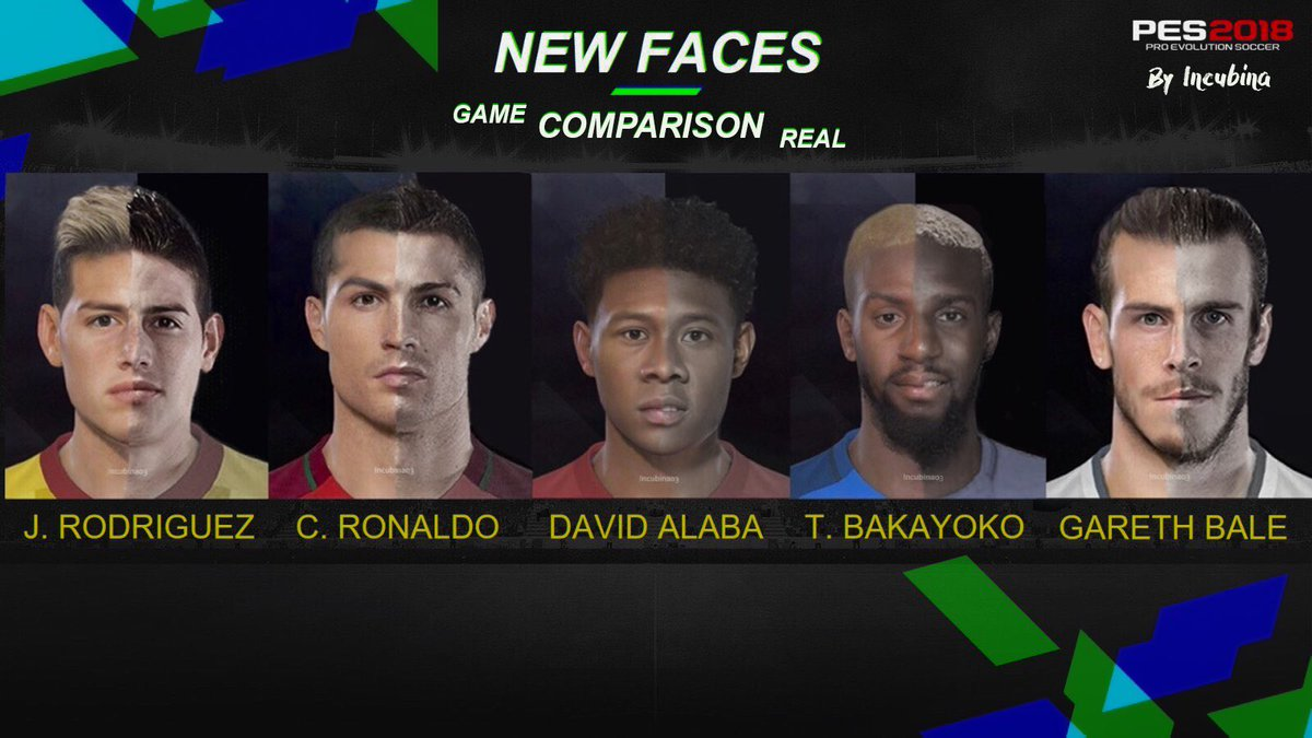 GAME VS REAL LIFE - NO SCAN FACE #PES2018 #PES2018WT<br>http://pic.twitter.com/ms4X5u6uUK