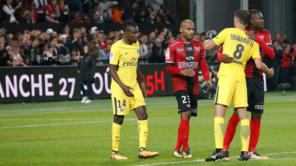 Matuidi a disputé son dernier match avec le #PSG face à Guingamp. Il n'aura joué que 5 petites minutes avec Neymar. pic.twitter.com/GKOHAj7suP