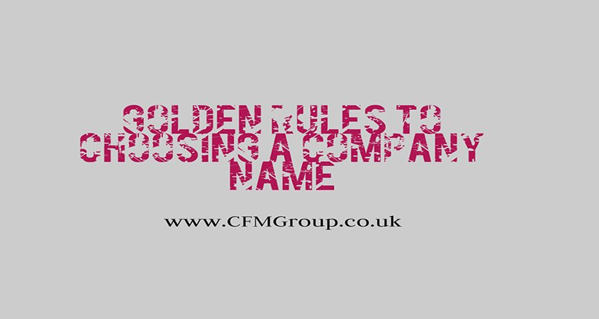 5 Golden Rules for Choosing a Company Name - Read more at:  http:// ht.ly/Gf4z30e50ik  &nbsp;   !  #Tips #SMM #SocialMediaMarketing #CFMGroup #RT<br>http://pic.twitter.com/RyLHXXpeWZ