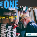 Do you enjoy reading? Would you like to inspire others to read? We have a place for you as a volunteer. No experience necessary. Message us.