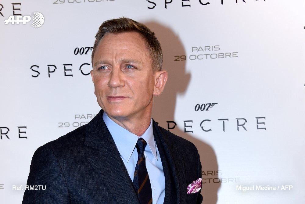 Daniel Craig confirme son retour en James Bond - pour la dernière fois https://t.co/ily0sopqxz #AFP